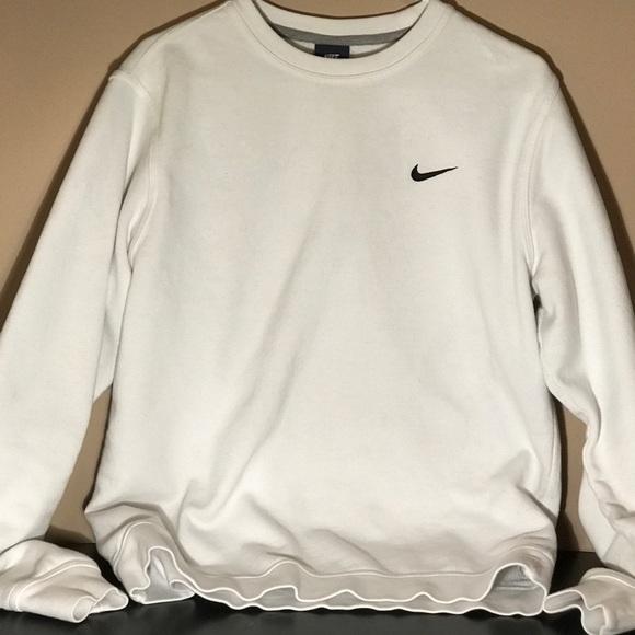 Sweaters White Crewneck Nike Poshmark M xAR0XqwAdZ